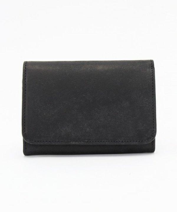 画像1: プエブロレザー スナップミドル財布