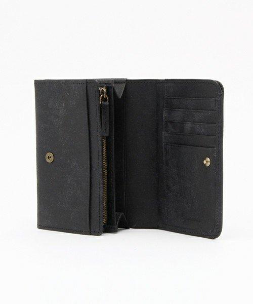 詳細写真1: プエブロレザー スナップミドル財布