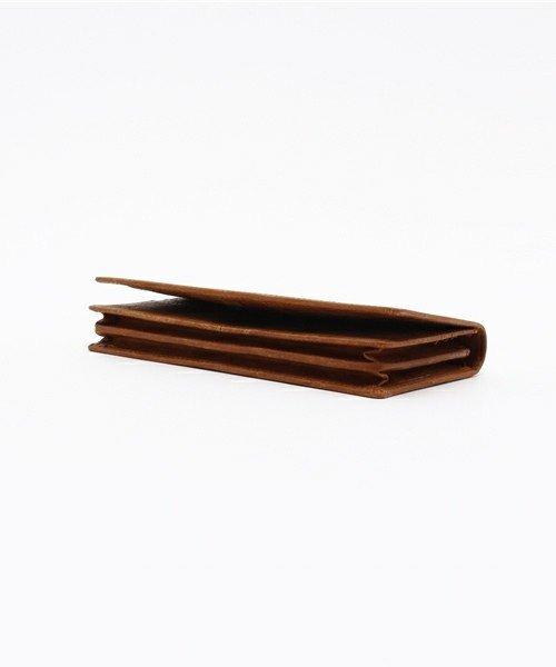 詳細写真3: [プエブロレザー] マチあり長財布