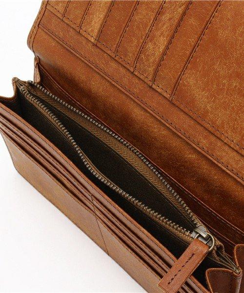 詳細写真2: [プエブロレザー] マチあり長財布