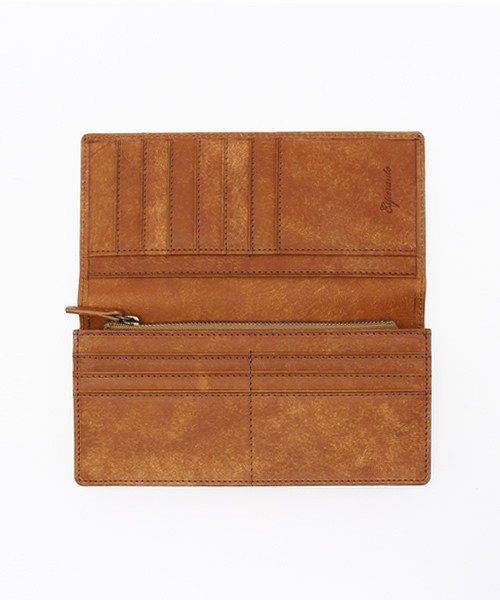 詳細写真1: [プエブロレザー] マチあり長財布