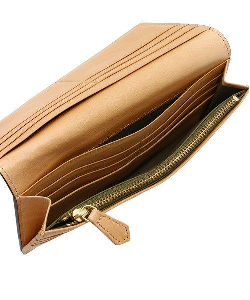 詳細写真2: [ブライドルレザー] 長財布