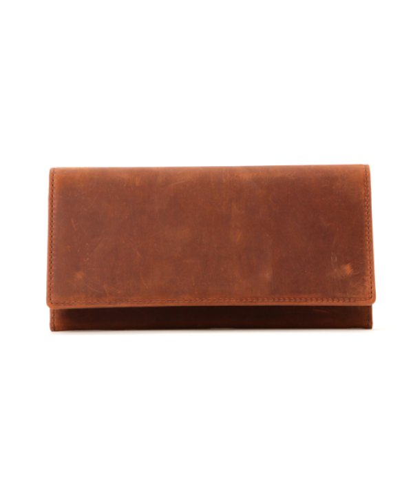 画像2: [クレイジーカーフレザー] 長財布
