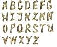 画像19: 真鍮製 アルファベットキーホルダー