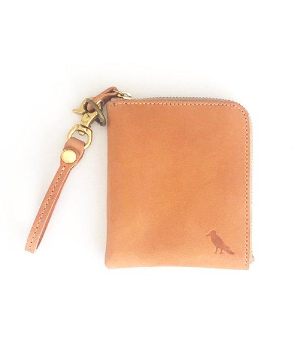 画像1: [ニューヨークレザー] Lzipミニ財布