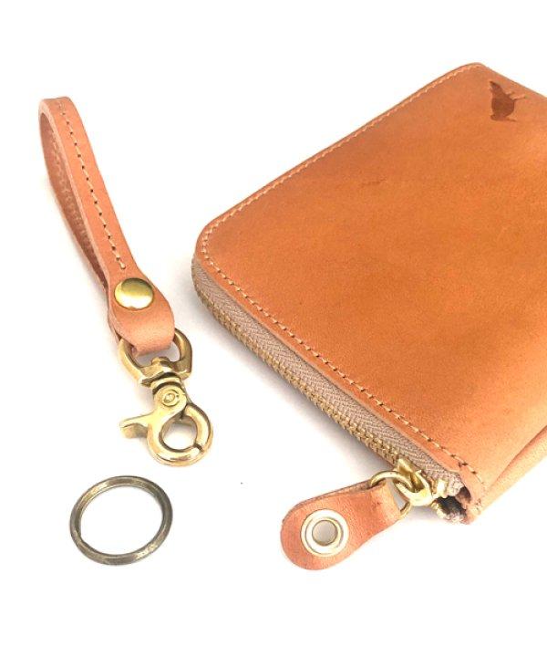 画像2: [ニューヨークレザー] Lzipミニ財布