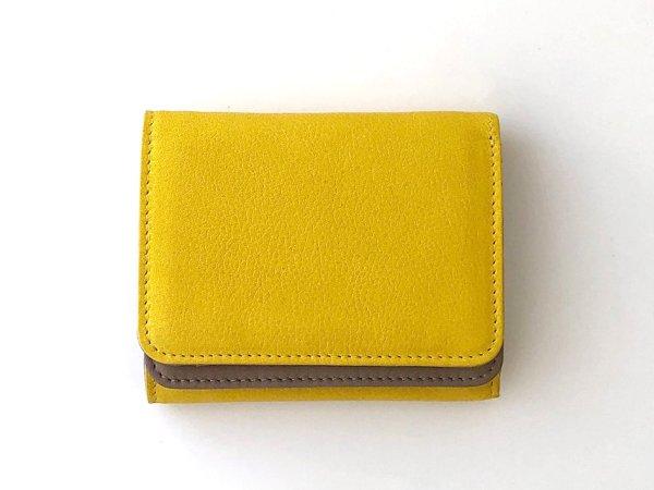 画像1: [カウレザー] コンパクト財布