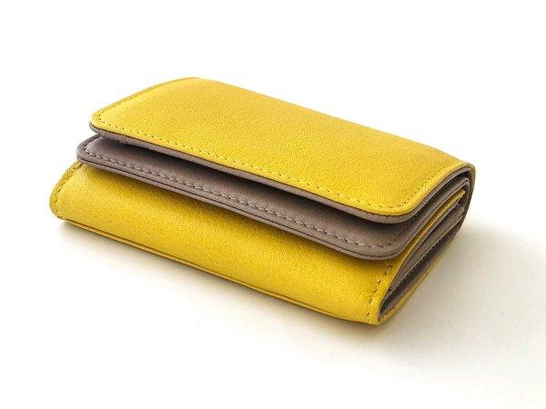 画像2: [カウレザー] コンパクト財布