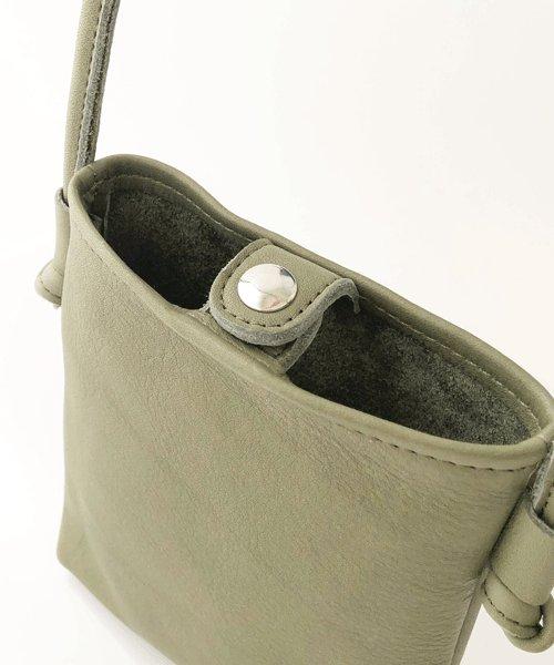 詳細写真1: [カウレザー] miniミニショルダーバッグ