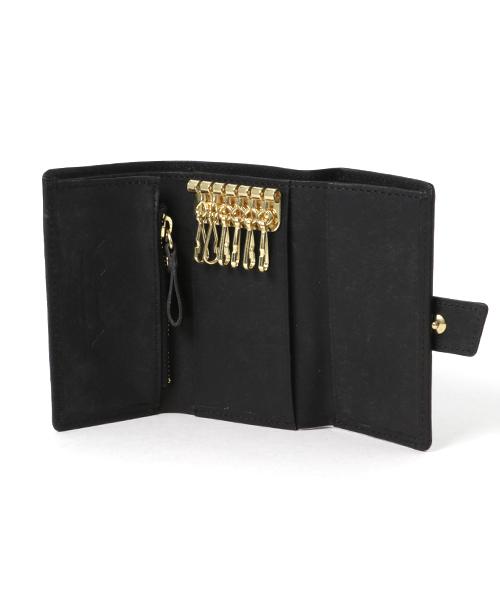 画像1: プエブロレザー財布機能付きキーケース