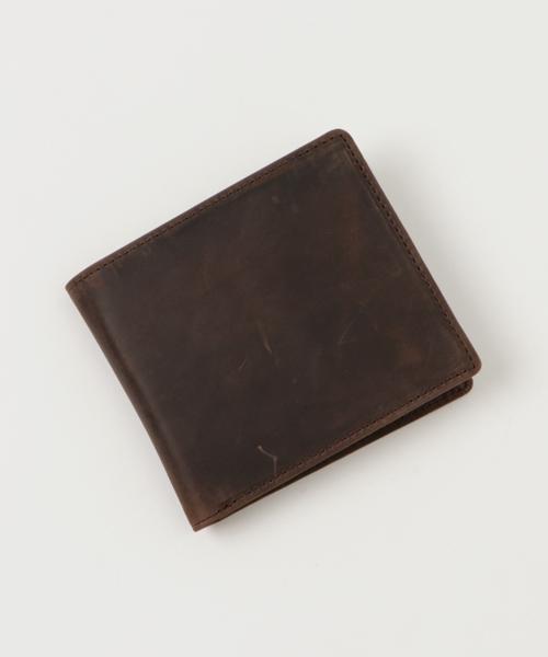画像1: クレイジーカーフ/二つ折り財布
