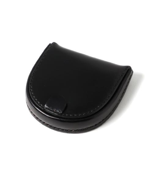 画像1: コードバン(CORDOVAN)総手縫い馬蹄型コインケース