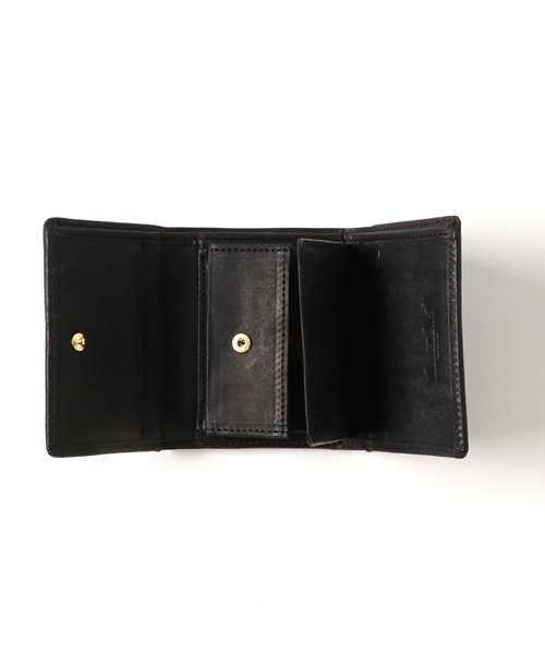 画像1: プエブロレザーコンパクト財布